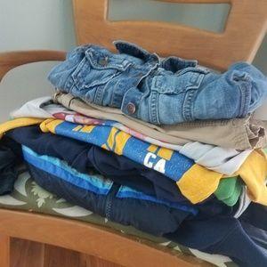 6/7 GAP Boys Mystery Clothing Bundle - 9 piece lot